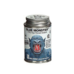 76005 1 Pint Blue Monster Heavy-Duty Industrial Grade Thread Sealant with PTFE