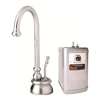 Mountain Plumbing 540DIYNLCPB The Little Gourmet Instant Hot Water Dispenser Kit with Heating Tank - Polished Chrome