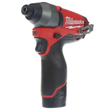 Milwaukee 2453-22 M12 Fuel 12-Volt Brushless Lithium-Ion 1/4 in. Hex Impact Driver Kit