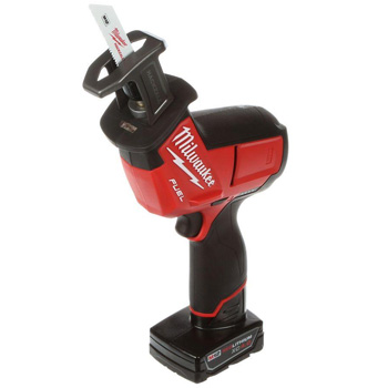 Milwaukee 2520-21XC M12 FUEL 12-Volt Lithium-Ion Cordless HACKZALL Reciprocating Saw Kit