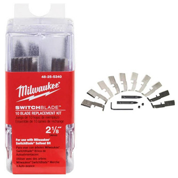 Milwaukee 48-25-5320 1-3/8 in. Switchblade 10-Blade Replacement Kit