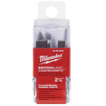 Milwaukee 48-25-5340 2-1/8 in. Switchblade 10-Blade Replacement Kit