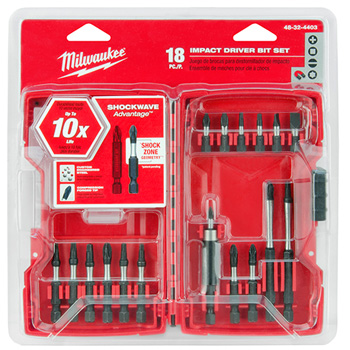 Milwaukee Tools 48-32-4403 SHOCKWAVE Driver Bit Set (18 PC)