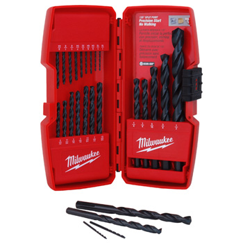 Milwaukee Tools 48-89-2801 MWP48-89-2801 Thunderbolt Black Oxide Drill Bit Set (21 PC)