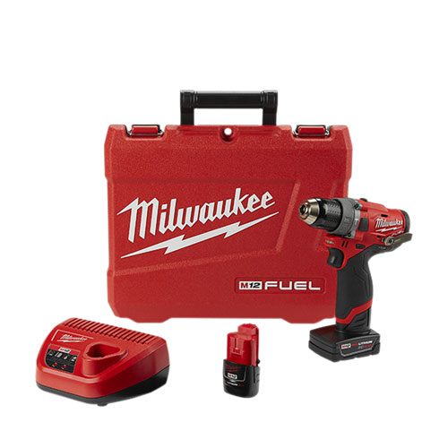 Milwaukee 2504-22 M12 FUEL 1/2 in Hammer Drill Kit