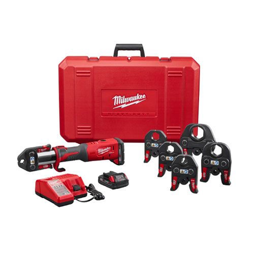 Milwaukee 2773-22 M18  FORCE LOGIC Press Tool Kit with 1/2 in to 2 in Jaws