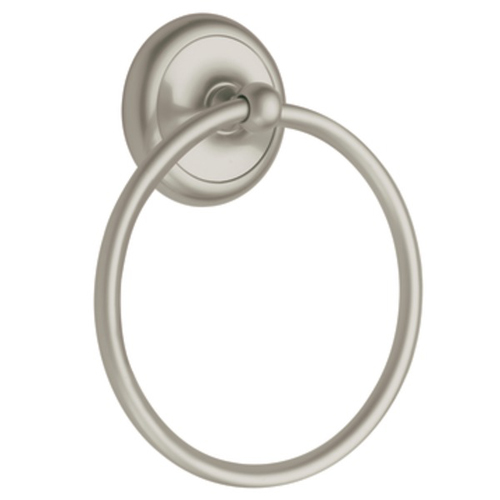 Moen BP5386 Creative Specialties Yorkshire Collection Towel Ring - Satin Nickel