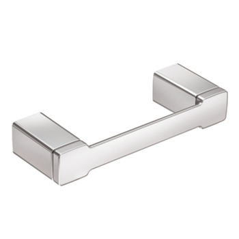Moen YB8808 Creative Specialties 90 Degree Collection Double Post Pivoting Toilet Paper Holder - Chrome