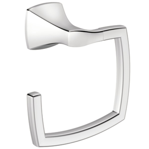Moen YB5186 Creative Specialties Voss Collection Towel Ring - Chrome