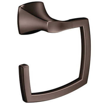 Moen YB5186ORB Creative Specialties Voss Collection Towel Ring - Oil Rubbed Bronze