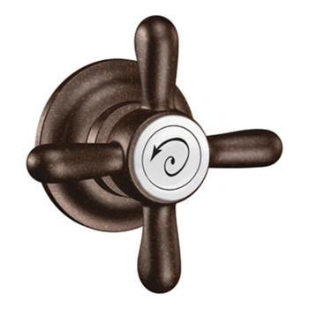 Moen YB8401 Creative Specialties Weymouth Reversible Tank Lever with Metal Cross Handle - Oil Rubbed Bronze