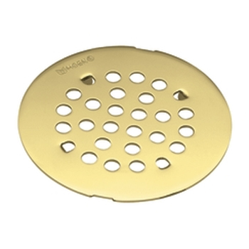 Moen 101663P Snap-In Shower Strainer - Polished Brass