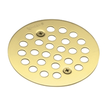Moen 101664BN Screw-In Shower Strainer Brushed Nickel (Pictured in Polished Brass)
