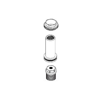 Moen 101952 Roman Tub Diverter Hardware Kit Faucetdepot Com