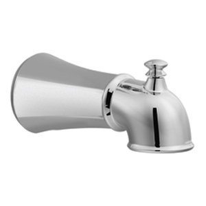 Moen 125753PW Vestige Diverter Tub Spout Pewter, Slip Fit (Pictured in Chrome)