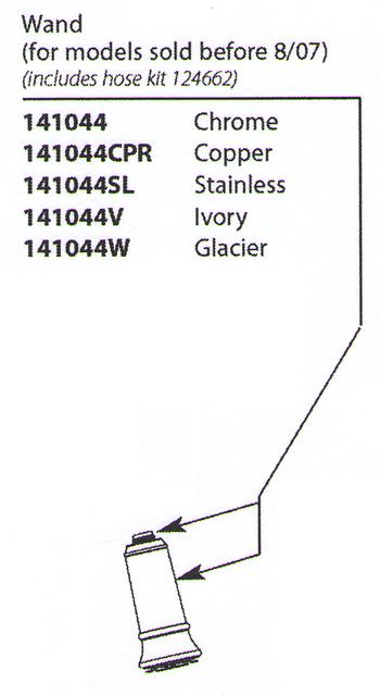 Moen-141044SL-Aberdeen-Replacement-Wand-Stainless