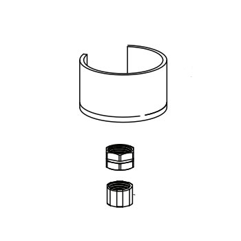Moen 146927 Mounting Hardware
