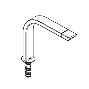 Moen 147543CSL Spout Kit - Classic Stainless