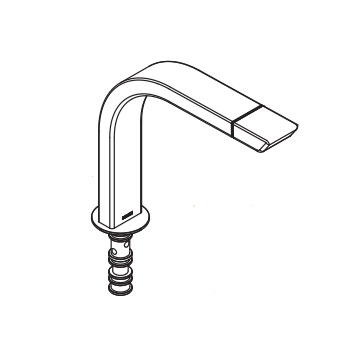 Moen 150288CSL Spout Kit - Classic Stainless