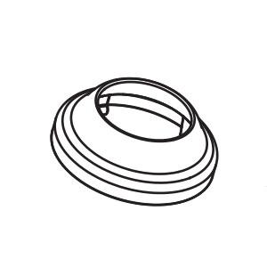 Moen 153206 Lavatory Faucet Handle Dome Kit Chrome