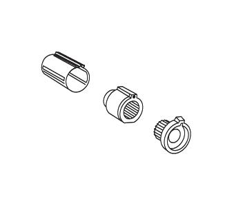 moen tub shower replacement parts. moen 15972 stop tube kit for posi temp tub/shower - polished brass tub shower replacement parts h