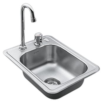 Sink : Moen Sinks: Bar Sinks, Single Bowl & Double Bowl Kitchen Sinks