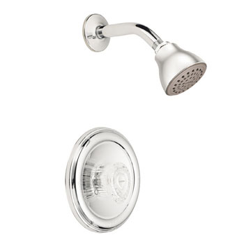 moen chateau kitchen faucet moen 2352 chateau posi temp single handle shower chrome 20815
