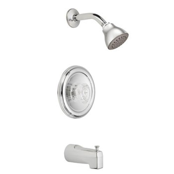 Moen 2353 Chateau Posi-Temp Single Handle Tub/Shower Chrome