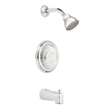 Moen 2363 Chateau Posi-Temp Single Handle Tub/Shower Chrome
