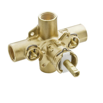 Moen 2590 Posi-Temp(R) Pressure Balancing Cycling Rough-In Valve with Stops (1/2