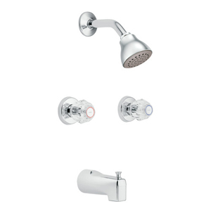 Moen 2982 Chateau Two Handle Standard Tub/Shower Chrome