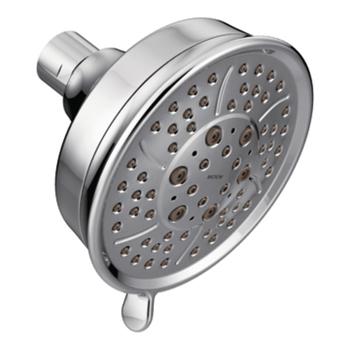 moen rain shower head. Moen 3638 Four Function 4 3 8  Diameter Spray Head Showerhead Chrome Showerheads Rain Shower Heads