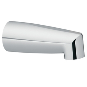 Moen 3829 Non-Diverter Tub Spout Chrome, Slip Fit