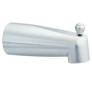 Moen 3831bc Diverter Tub Spout Brushed Chrome Slip Fit
