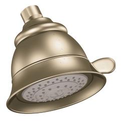 Moen 3838az castleby four function showerhead antique - Moen antique bronze bathroom faucets ...