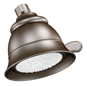 Moen 3838ORB Castleby Four Function Showerhead Oil Rubbed Bronze