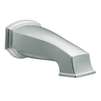Moen 3860 Rothbury Non-Diverter Tub Spout Chrome, 1/2