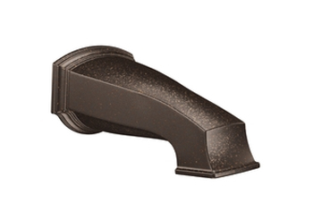 Moen 3860ORB Rothbury Non-Diverter Tub Spout Oil Rubbed Bronze, 1/2