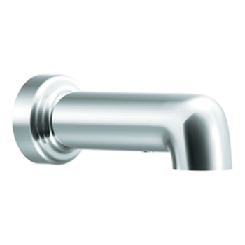 Moen 3892 Level Non-Diverter Tub Spout Chrome, Slip Fit
