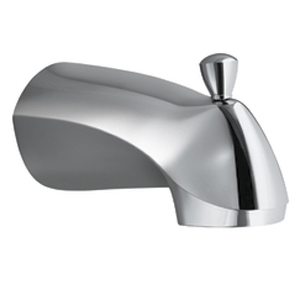 Moen 3977 Villeta Diverter Tub Spout Chrome, Slip Fit