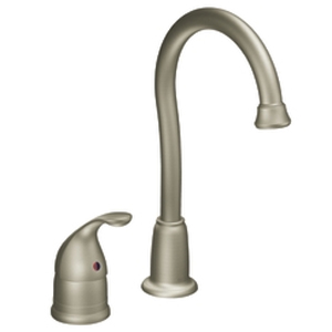 Moen 4905CSL Camerist Single-Handle Bar Faucet Classic Stainless