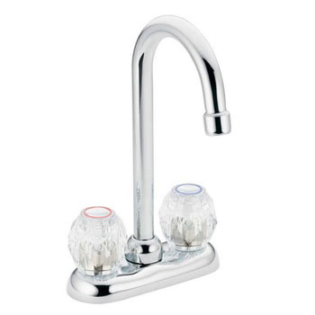 Moen 4910 Chateau Two-Handle Bar Faucet Chrome