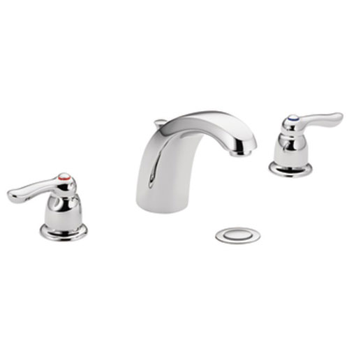 Moen 4945 Chateau Two Handle Widespread Lavatory Faucet