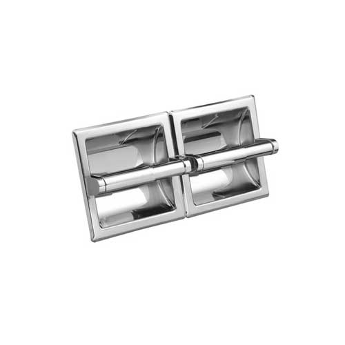 Moen 5577 Hotel Motel Double Paper Holder - Chrome