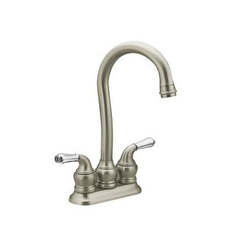 Moen 5996SL Monticello Two-Handle Bar Faucet Stainless
