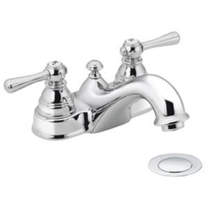 Moen 6101 Kingsley Two-Handle Centerset Lavatory Faucet Chrome