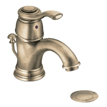Moen 6102AZ Kingsley Single-Handle Centerset Lavatory Faucet Antique Bronze
