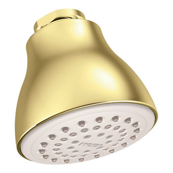 Moen 6300P Easy Clean XL Single Function Showerhead Polished Brass