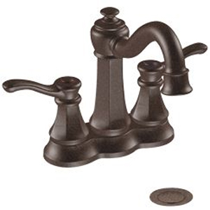 Moen 6301ORB Vestige Two-Handle Centerset Lavatory Faucet Oil Rubbed Bronze