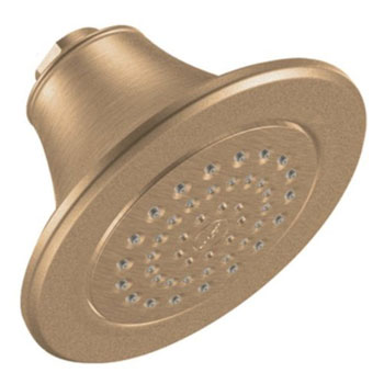 Moen S6312BB Icon Moenflo XLT Single Function Showerhead Brushed Bronze